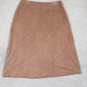 Lt brown skirt